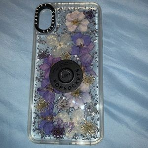 Lux Pressed Flower Case for Iphone XS